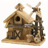 Country Bird Houses Rustic Birdhouse Feeders Style For