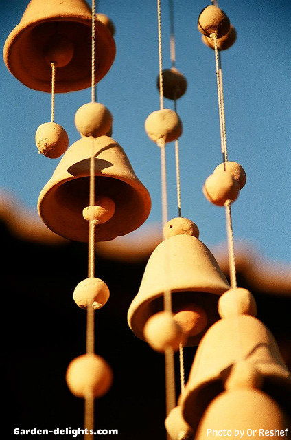 Ceramic Wind Chimes Decorative Unique Wind Charms Garden
