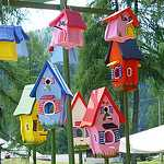 Bird Houses Decorative Feeders Fancy Beautiful