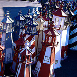 Garden lighthouses, lighthouse replicas, lawn lighthouses, ornamental lighthouses, wooden lighthouses, solar powered lighthouses.
