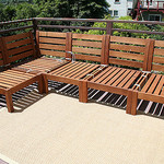 Red Cedar Outdoor Furniture, Rustic Red Cedar Furniture, Cedar Wood Outdoor  Furniture, Cedar