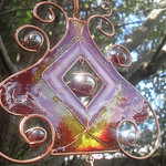 Stained Glass Wind Chimes,Glass Wind Chimes,modern wind chimes