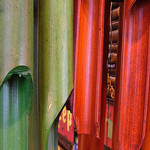 Wooden wind chimes, bamboo wind chimes, wind chimes